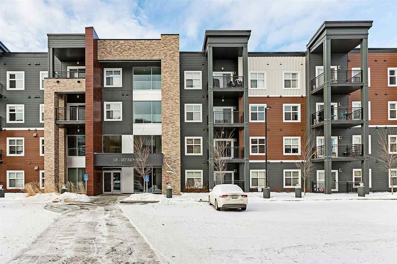 MLS® listing #E4154182 for sale located at 117 508 GRIESBACH Parade