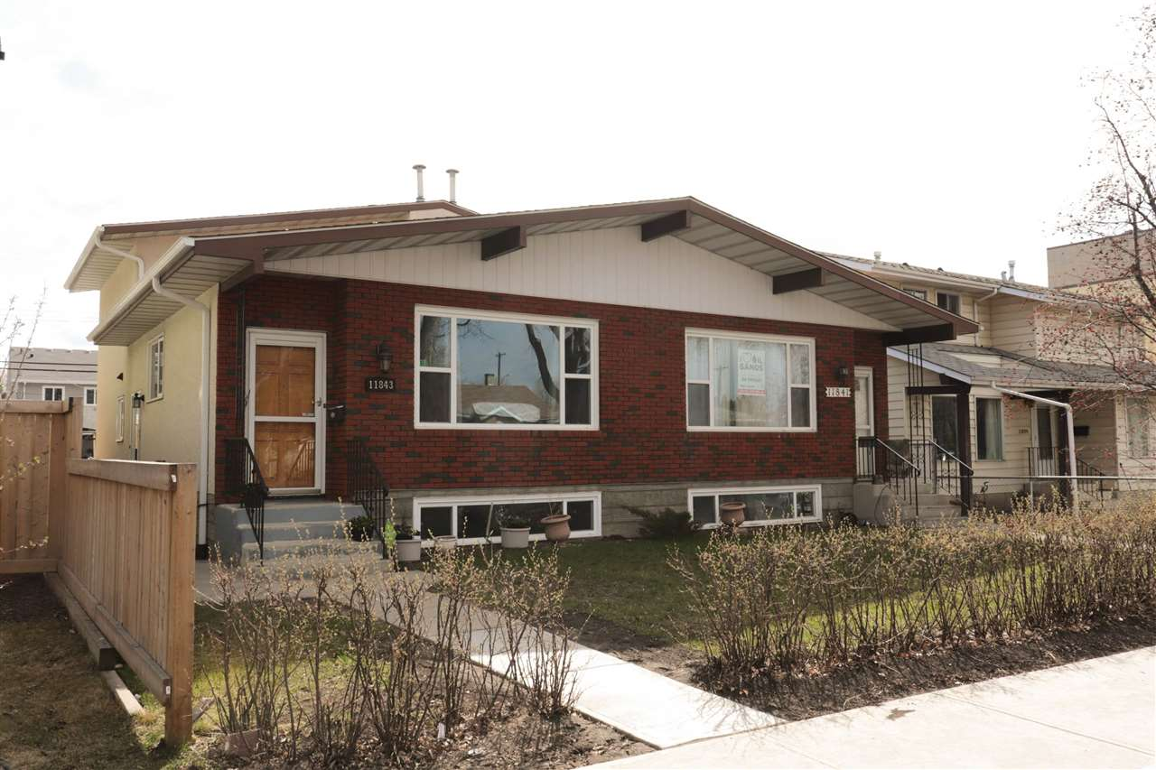 MLS® listing #E4154231 for sale located at 11843 123 Street