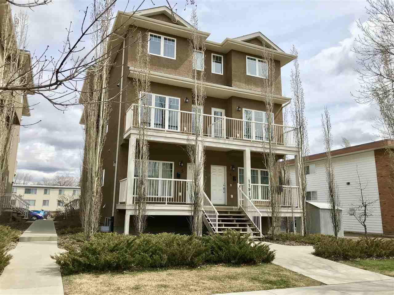 MLS® listing #E4154936 for sale located at #4 11913 103 Street