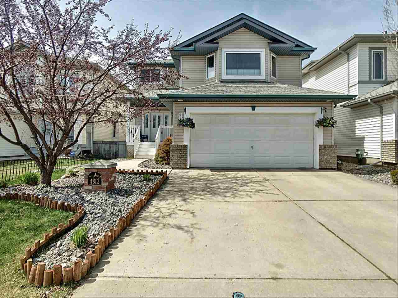 MLS® listing #E4154976 for sale located at 4812 190 Street