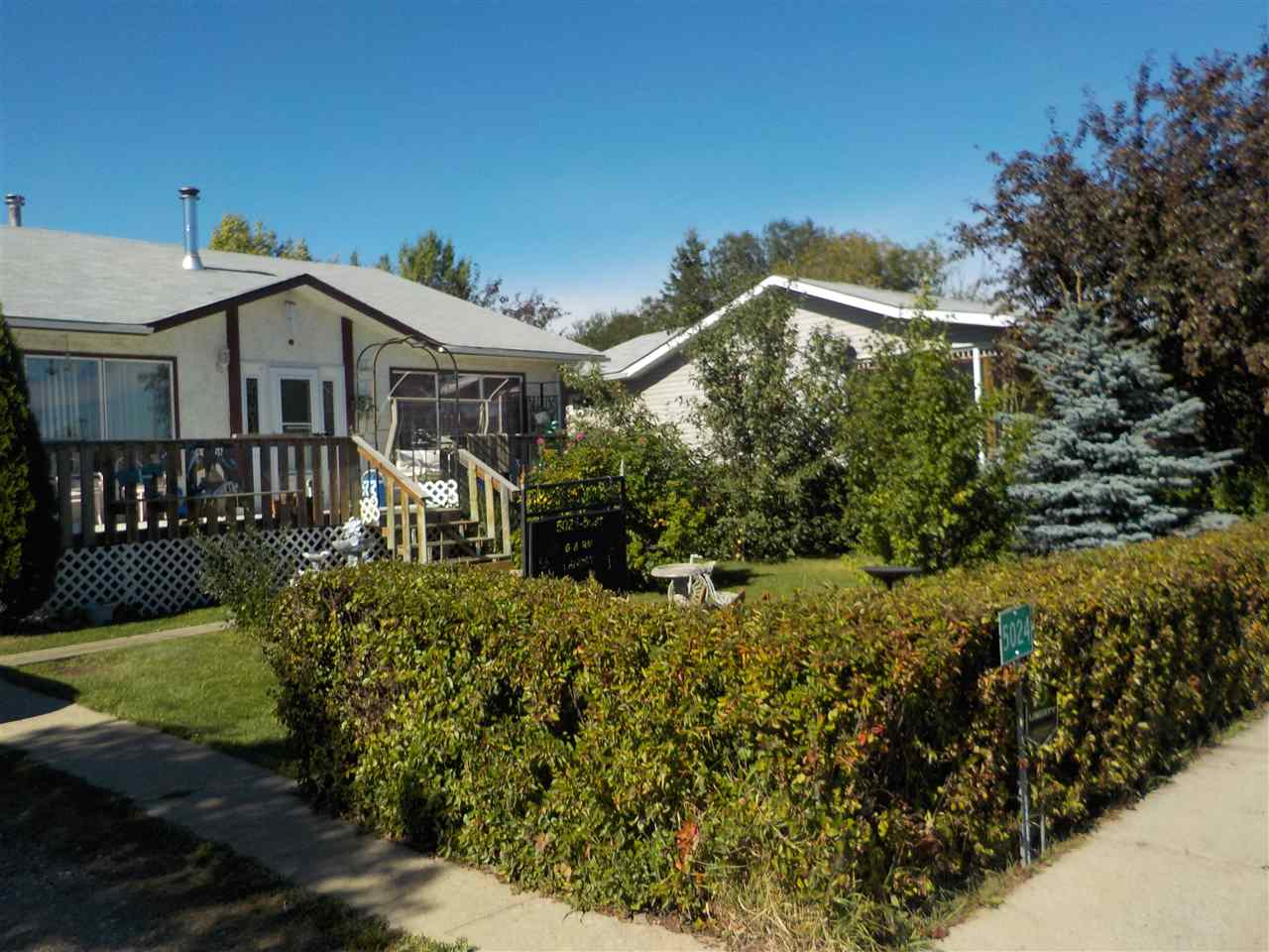 MLS® listing #E4155021 for sale located at 5024 50 street