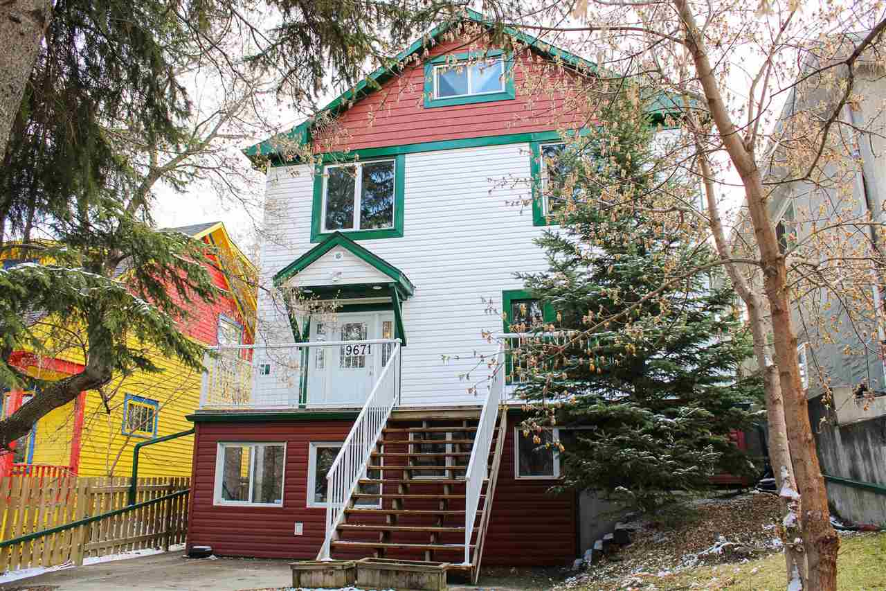 MLS® listing #E4155259 for sale located at 9671 87 Avenue