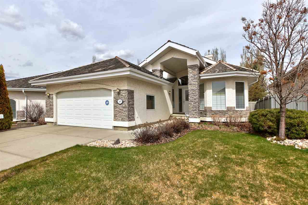 MLS® listing #E4155478 for sale located at 245 DARLINGTON Crescent