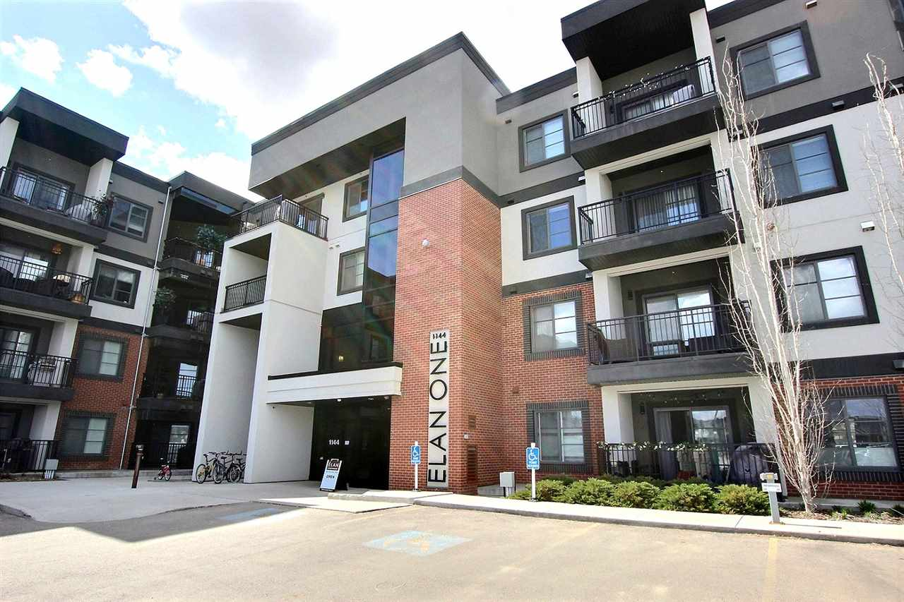 MLS® listing #E4155529 for sale located at 206 1144 ADAMSON Drive