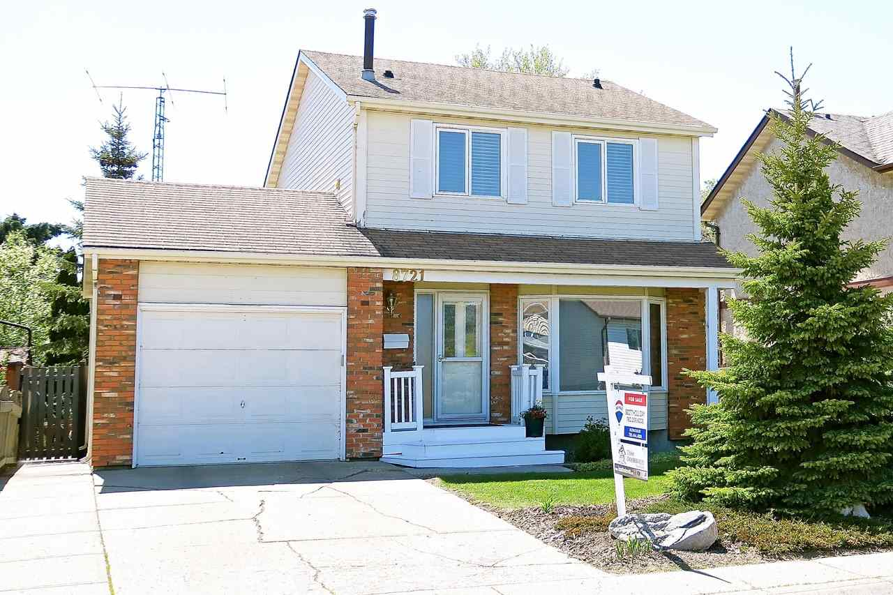 MLS® listing #E4155629 for sale located at 8721 152B Avenue