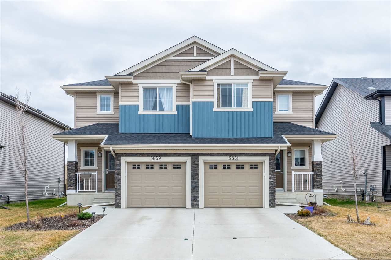 MLS® listing #E4156008 for sale located at 5861 ANTHONY Crescent