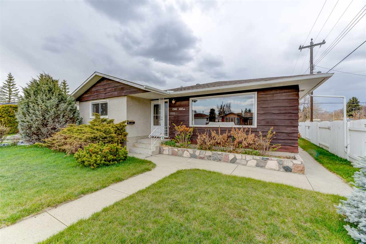 MLS® listing #E4156196 for sale located at 7316 100 Avenue