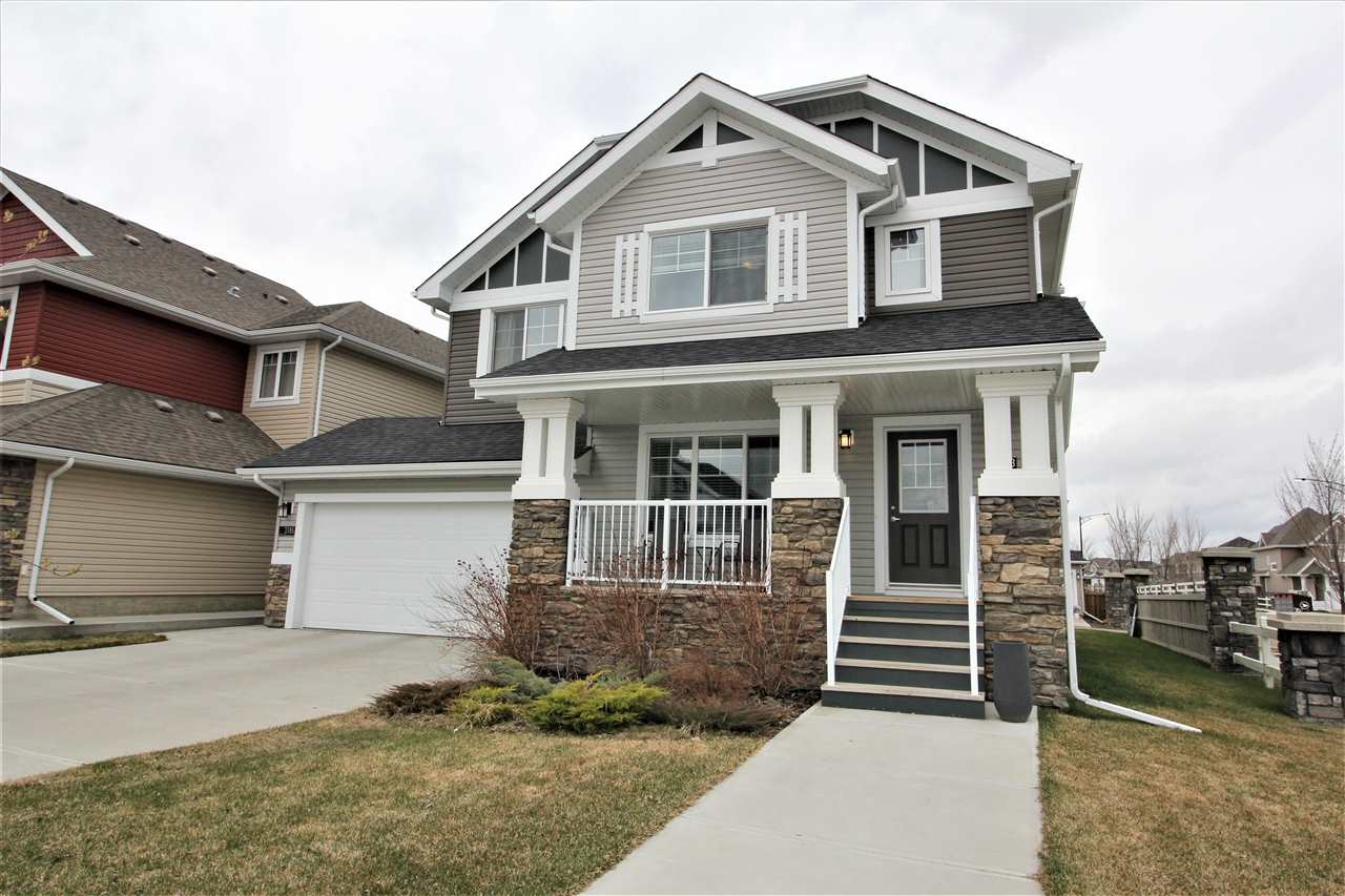 MLS® listing #E4156223 for sale located at 2703 SPARROW Place NW