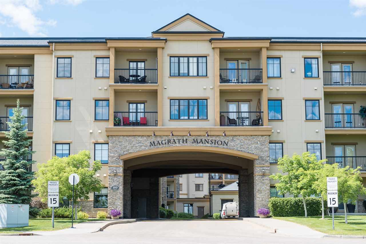 MLS® listing #E4156372 for sale located at 120 160 MAGRATH Road