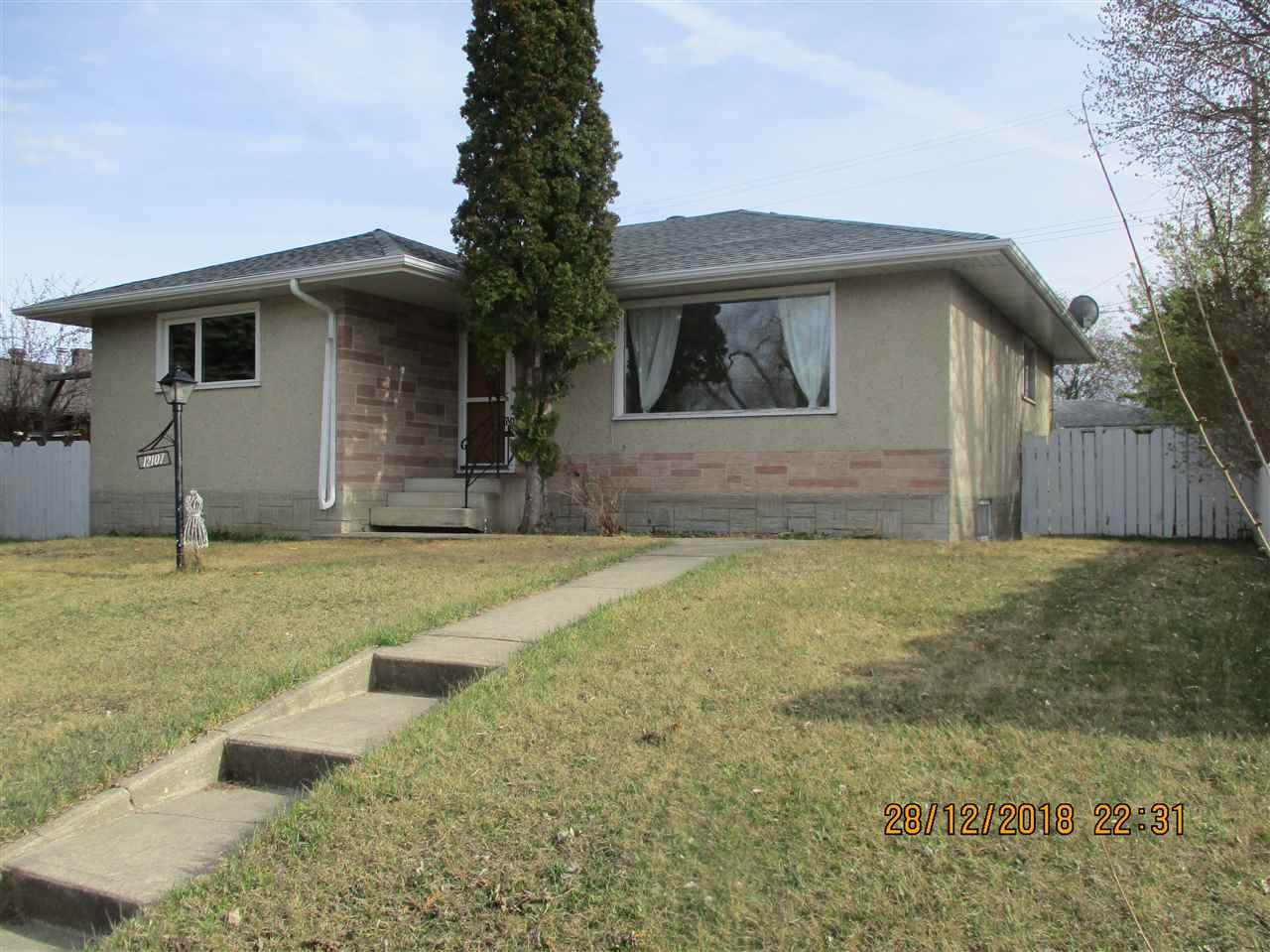 MLS® listing #E4156393 for sale located at 12107 132 Avenue NW