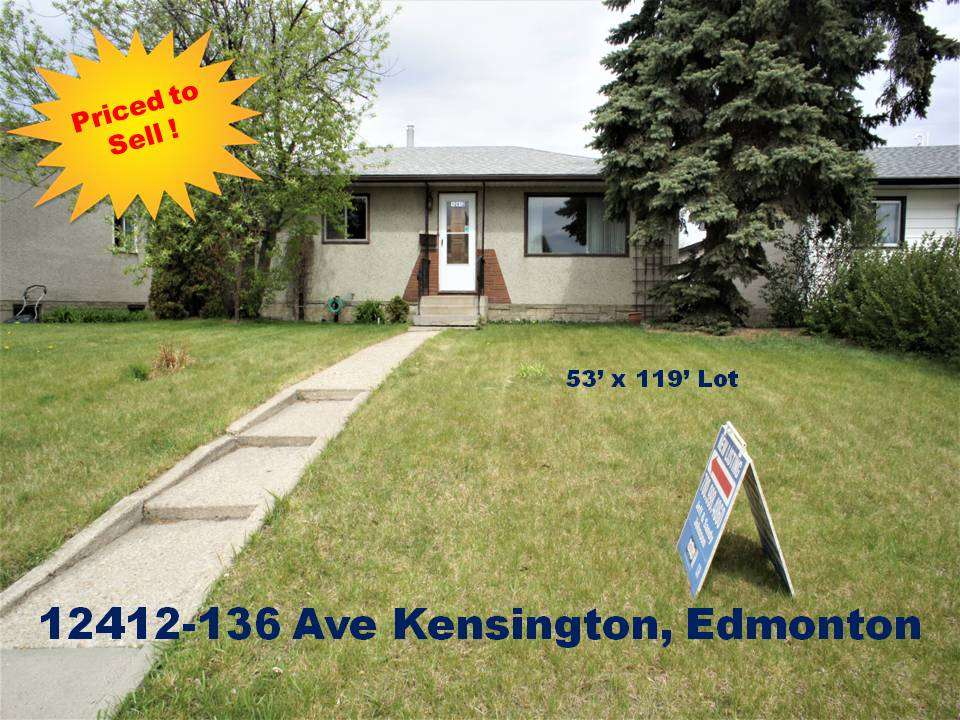MLS® listing #E4156447 for sale located at 12412 136 Avenue