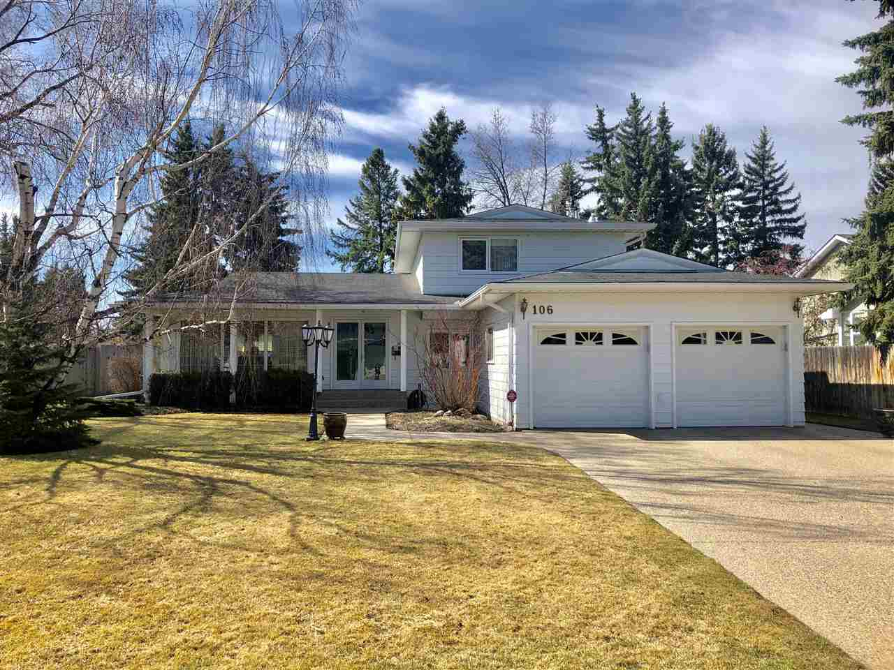 MLS® listing #E4156454 for sale located at 106 FAIRWAY Drive