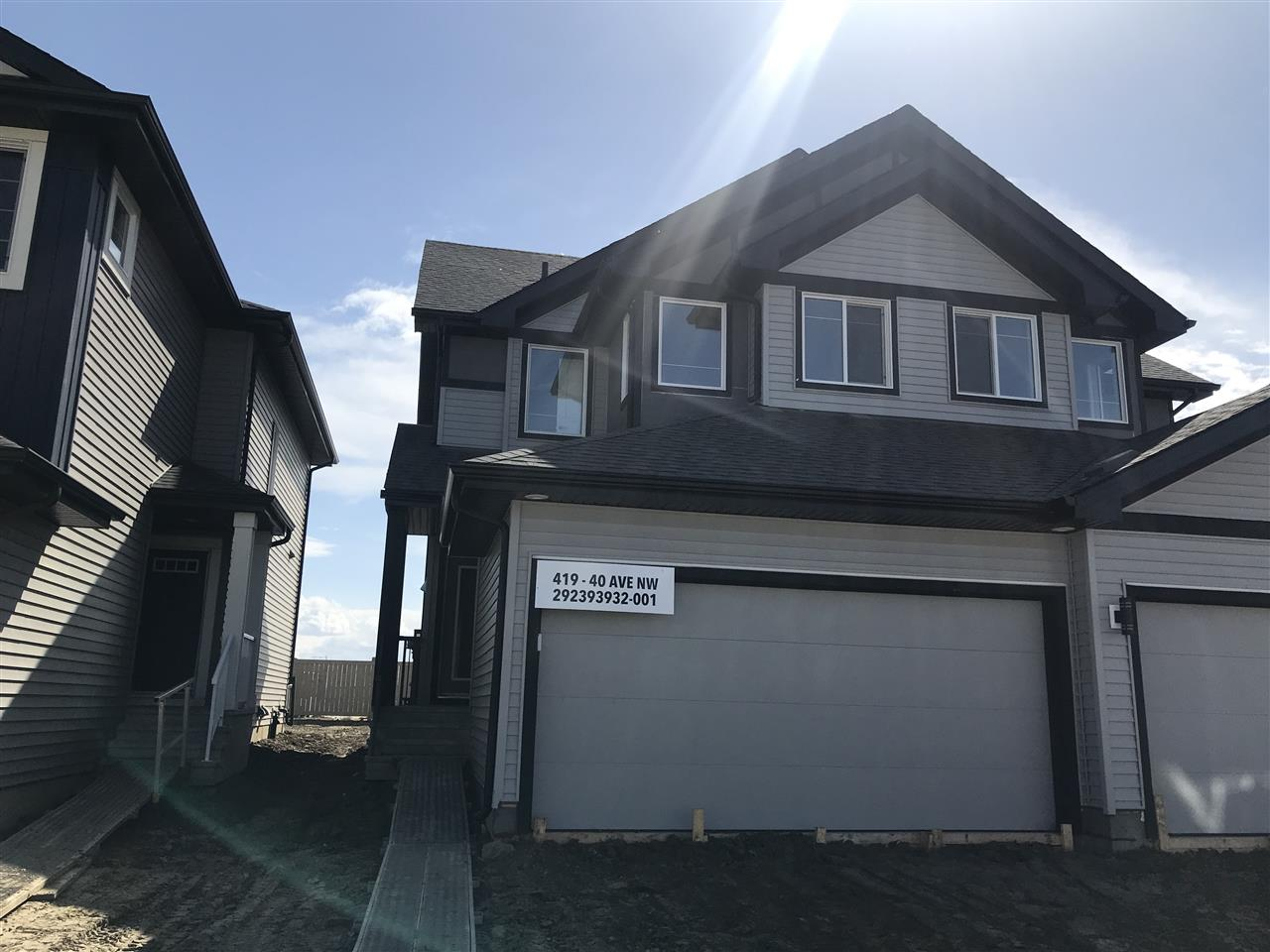 MLS® listing #E4156561 for sale located at 419 40 Avenue