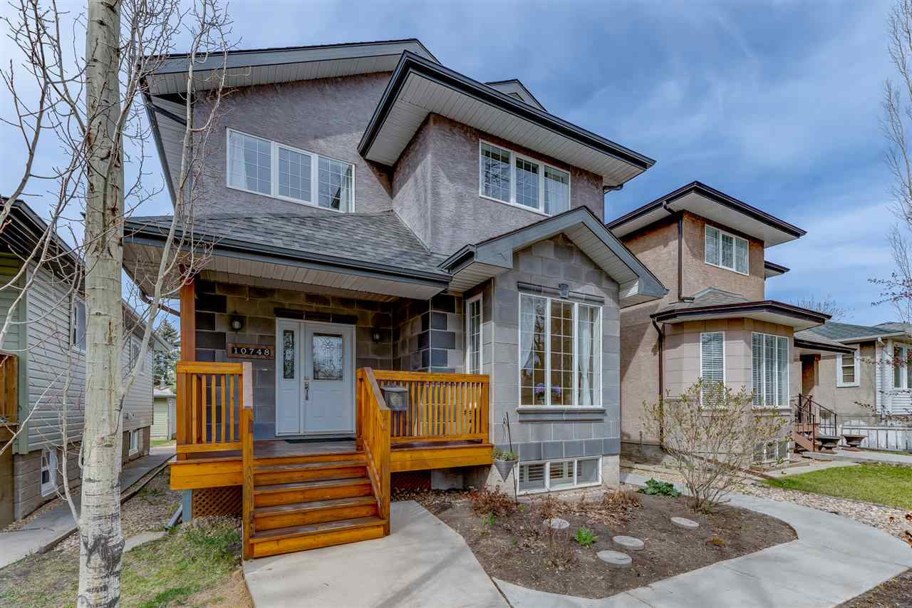 MLS® listing #E4156689 for sale located at 10748 71 Avenue