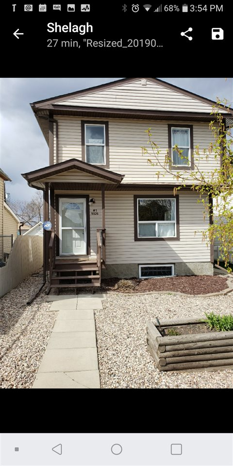 MLS® listing #E4156727 for sale located at 1 9326 106A Avenue