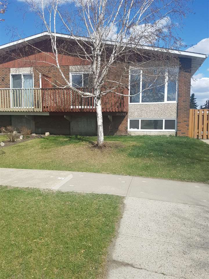 MLS® listing #E4156780 for sale located at 16019 100 Street