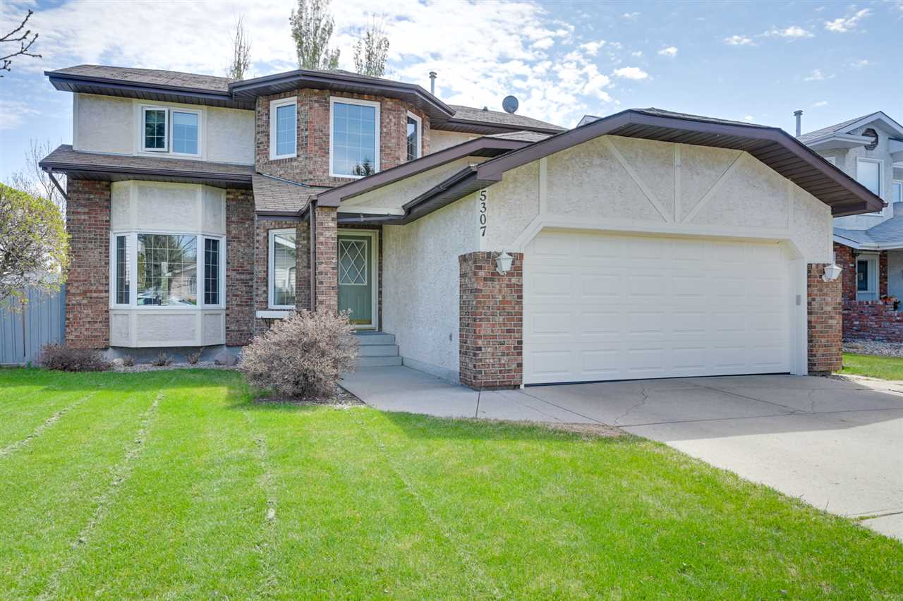 MLS® listing #E4156916 for sale located at 5307 185 Street