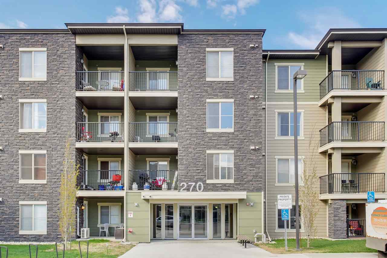 MLS® listing #E4156953 for sale located at 215 270 MCCONACHIE Drive