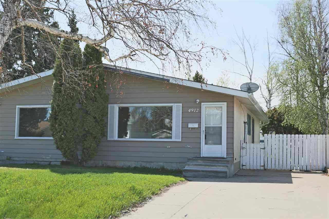 MLS® listing #E4156964 for sale located at 4912A 55A Avenue