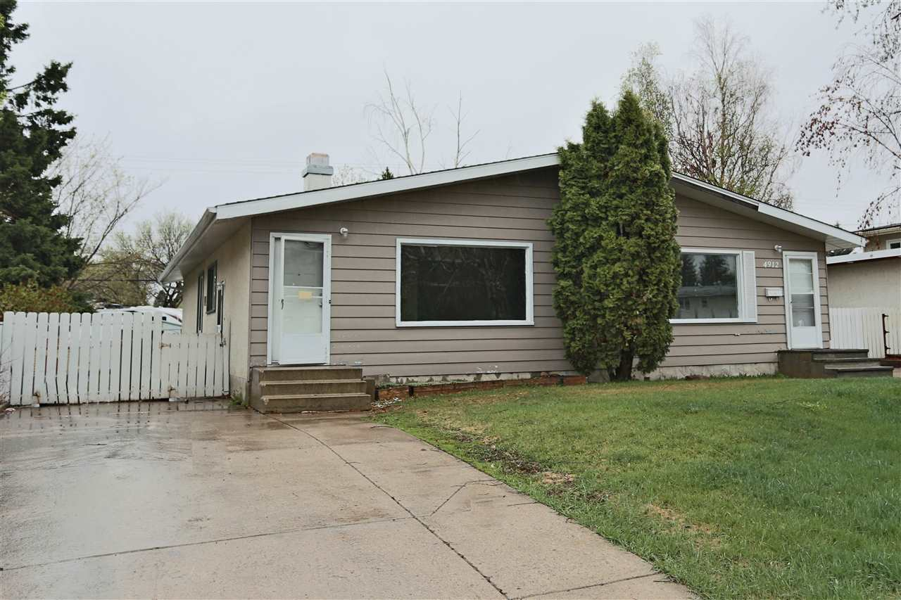 MLS® listing #E4156972 for sale located at 4912B 55A Avenue