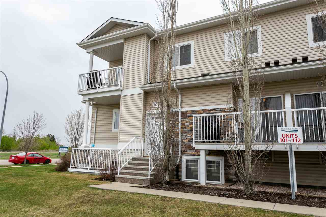 MLS® listing #E4157187 for sale located at 101 164 BRIDGEPORT Boulevard