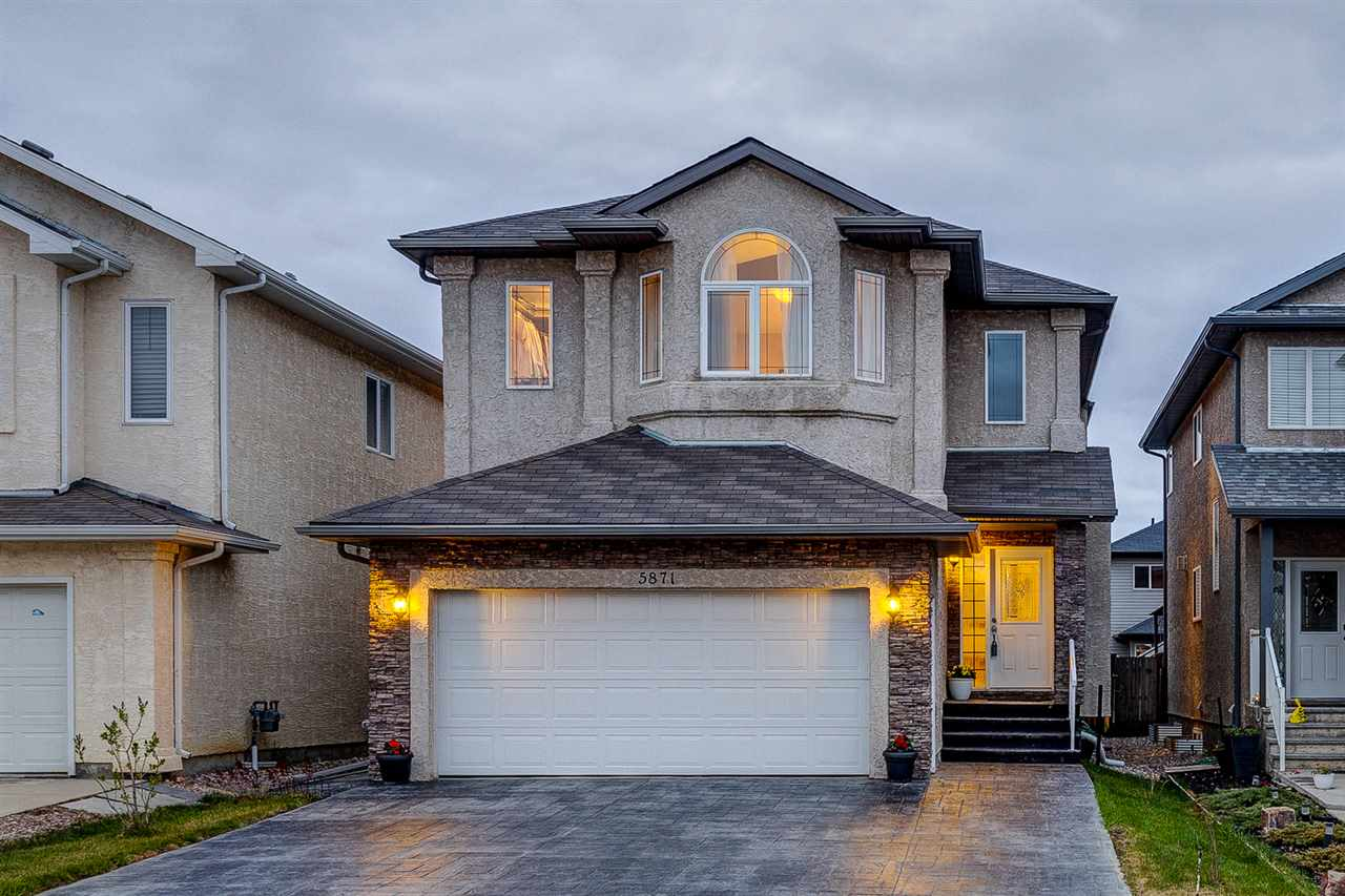 MLS® listing #E4157353 for sale located at 5871 166 Avenue