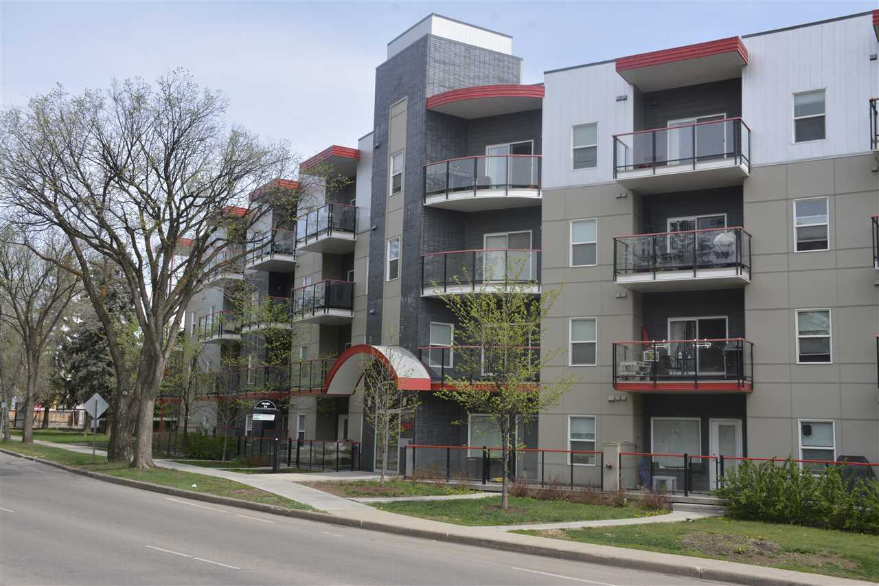MLS® listing #E4157566 for sale located at 307 10611 117 street Street