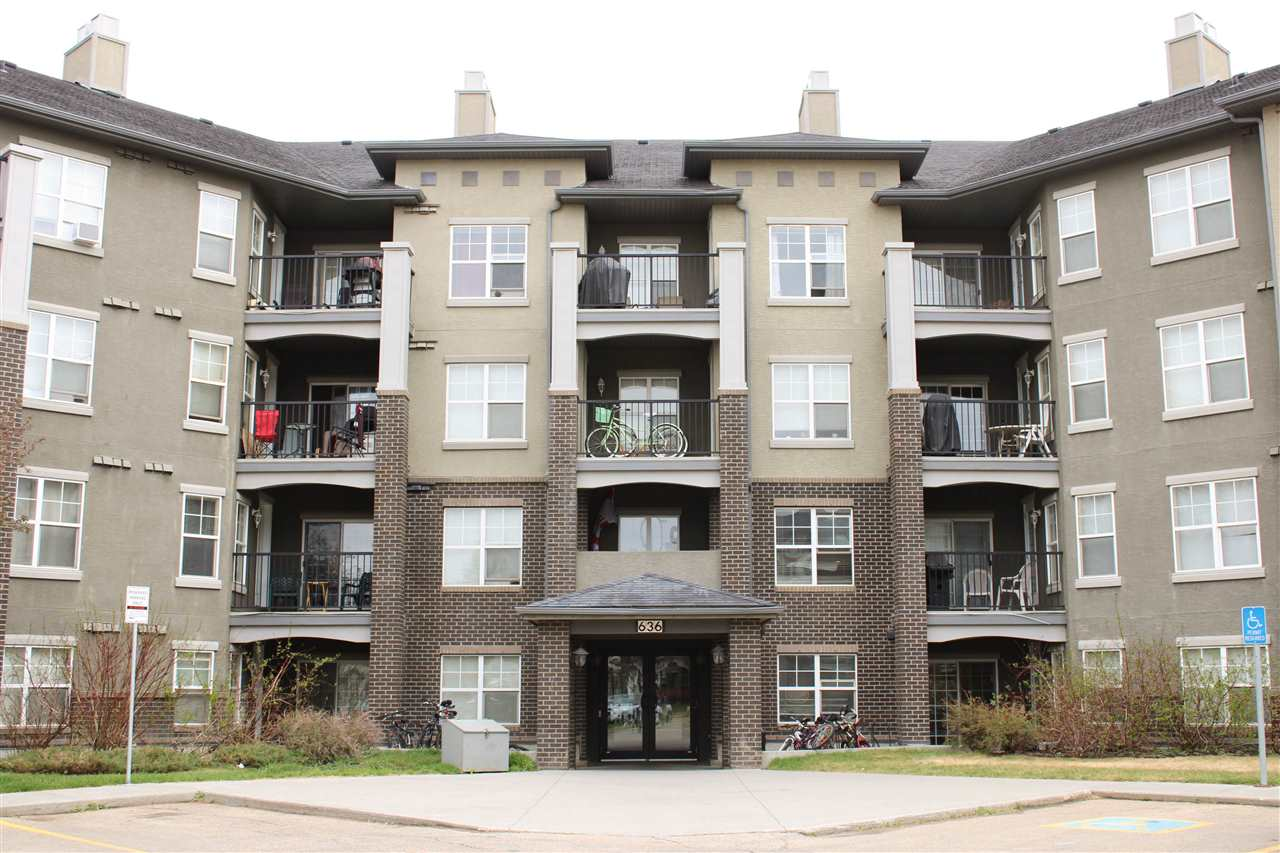 MLS® listing #E4157573 for sale located at 117 636 MCALLISTER Loop