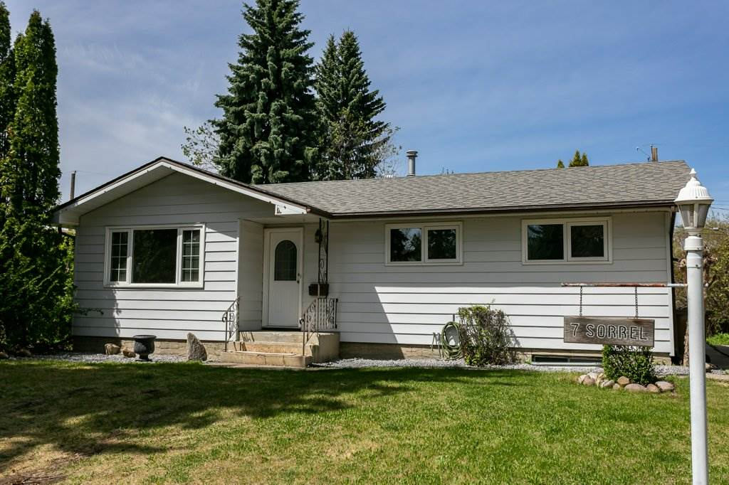 MLS® listing #E4157681 for sale located at 7 SORREL Crescent