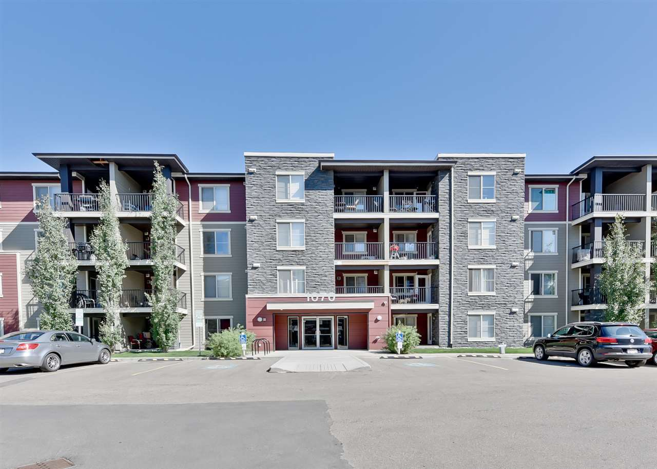 MLS® listing #E4157845 for sale located at 303 1070 MCCONACHIE Boulevard