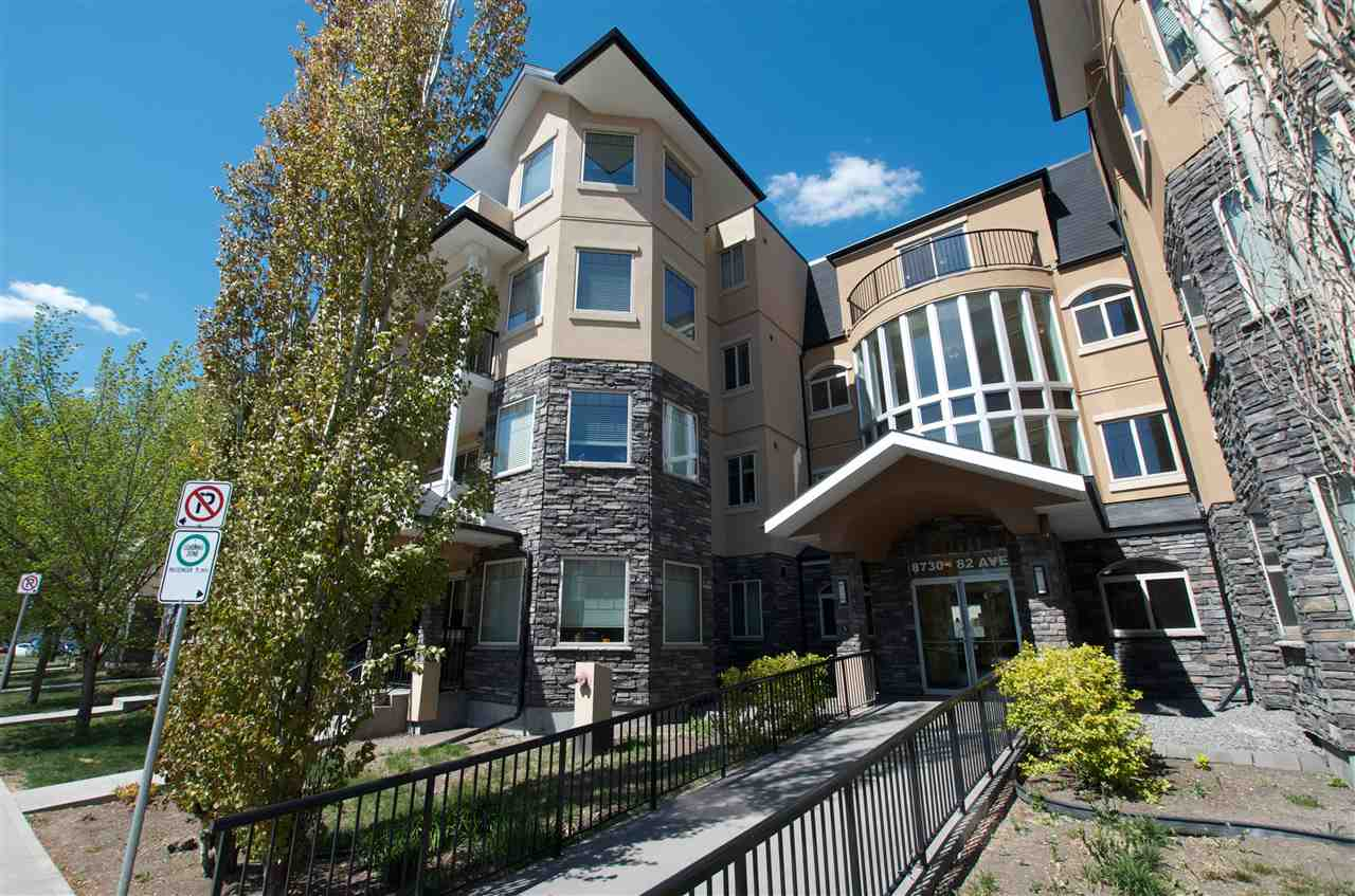 MLS® listing #E4157871 for sale located at 202 8730 82 Avenue NW