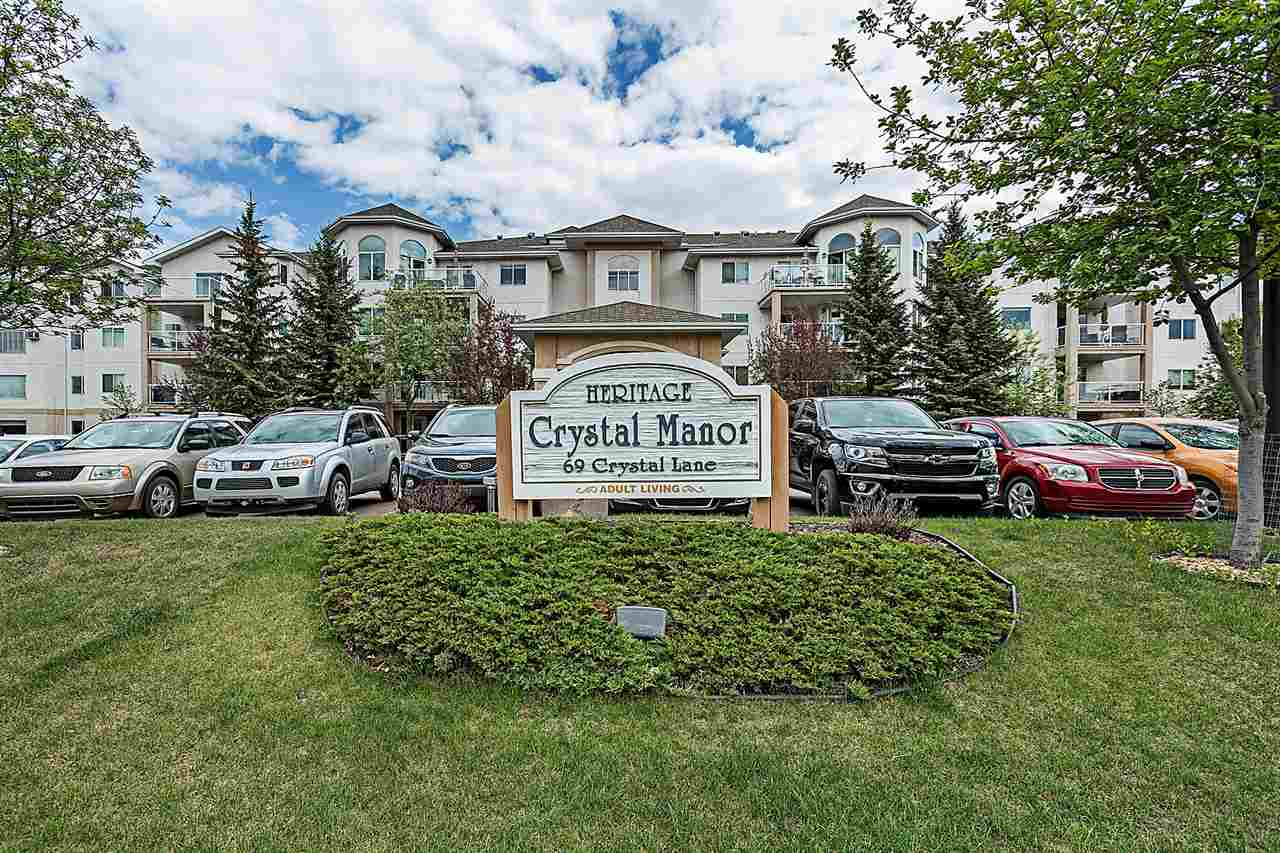 MLS® listing #E4158308 for sale located at 201 69 CRYSTAL Lane