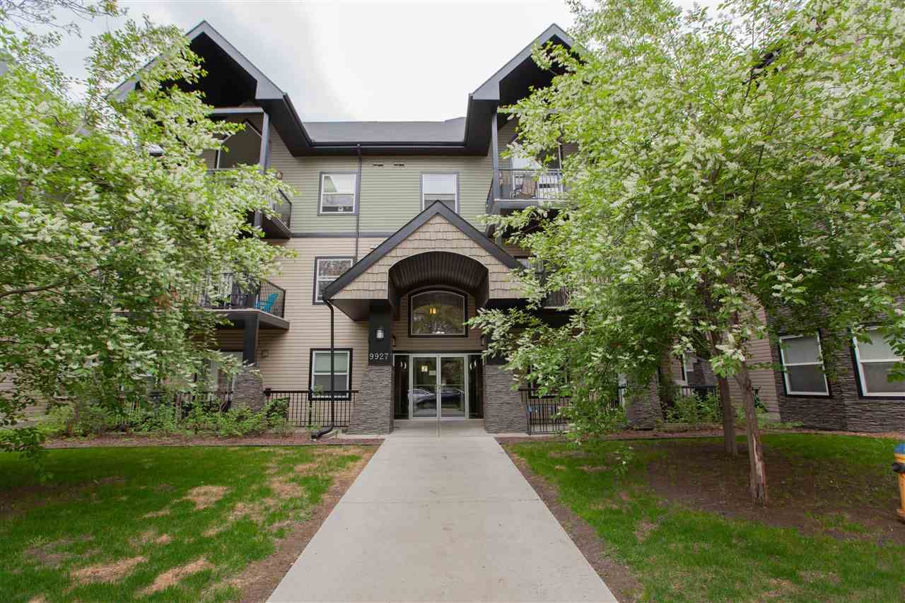 MLS® listing #E4158417 for sale located at 307 9927 79 Avenue