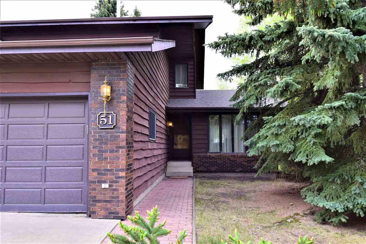 MLS® listing #E4158578 for sale located at 51 WOODLAKE Manor