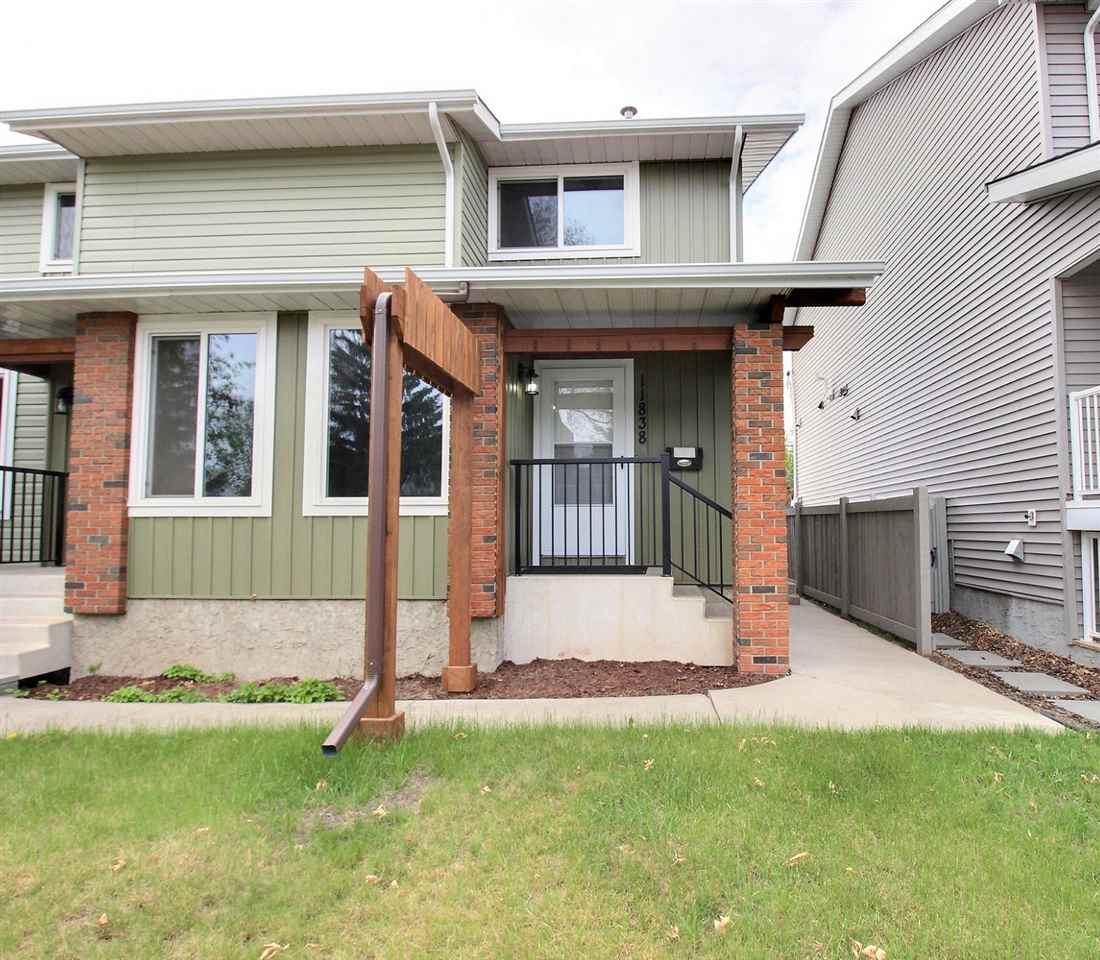MLS® listing #E4158584 for sale located at 11838 122 Street