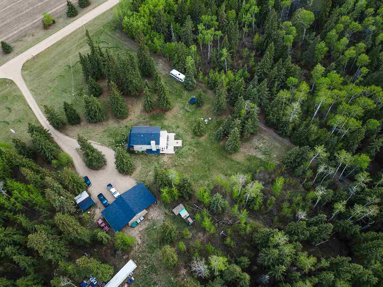 MLS® listing #E4158600 for sale located at 265070 TWP 465