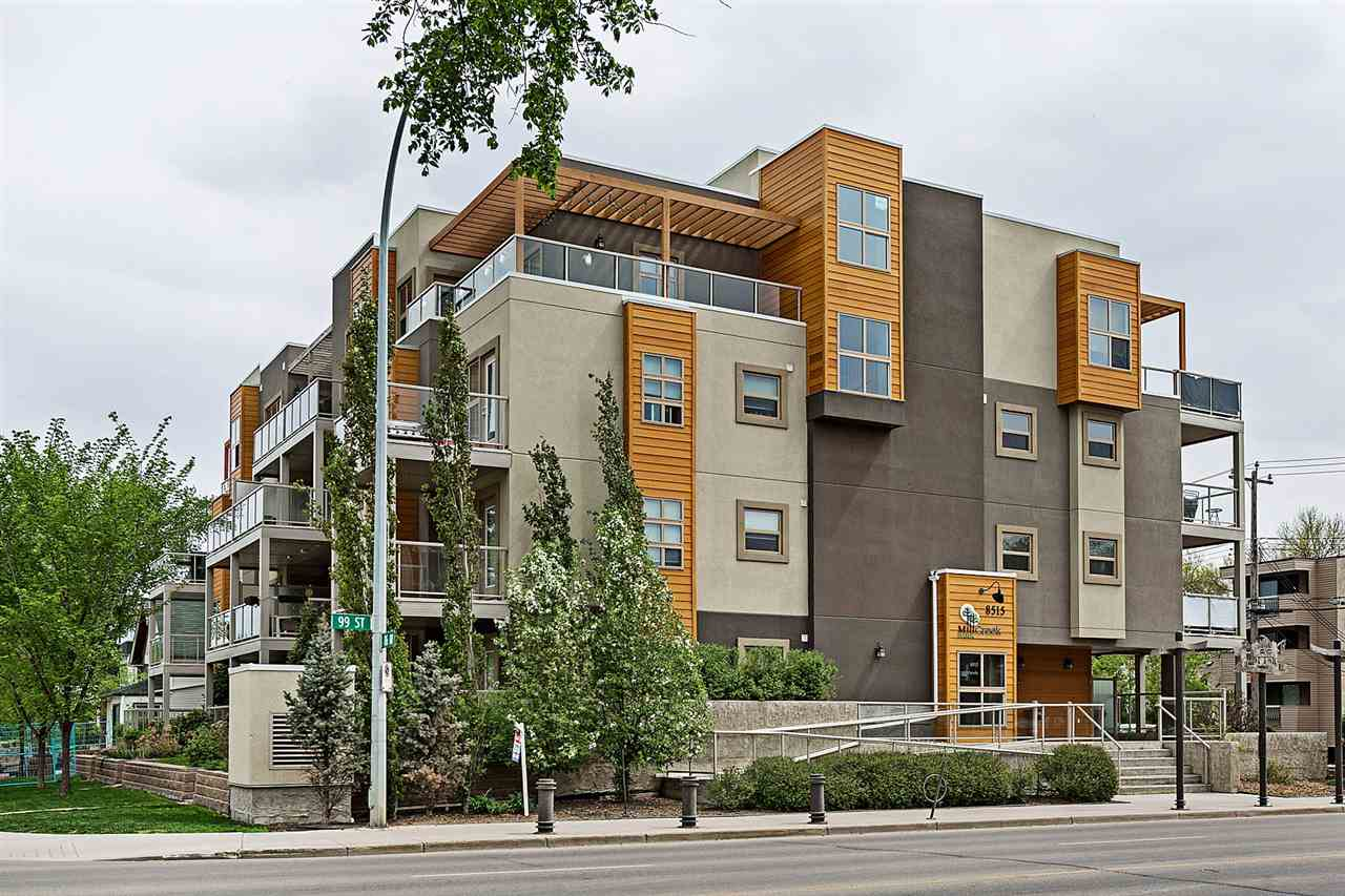 MLS® listing #E4158619 for sale located at #208 8515 99 Street NW