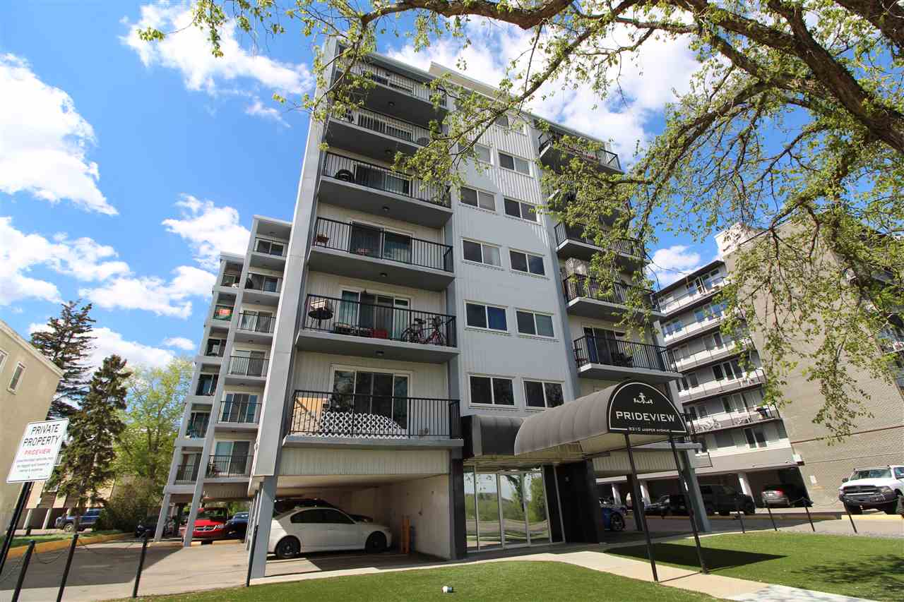 MLS® listing #E4158631 for sale located at 204 8310 jasper Avenue NW