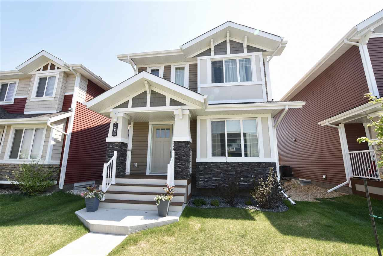 MLS® listing #E4158665 for sale located at 229 EBBERS Boulevard