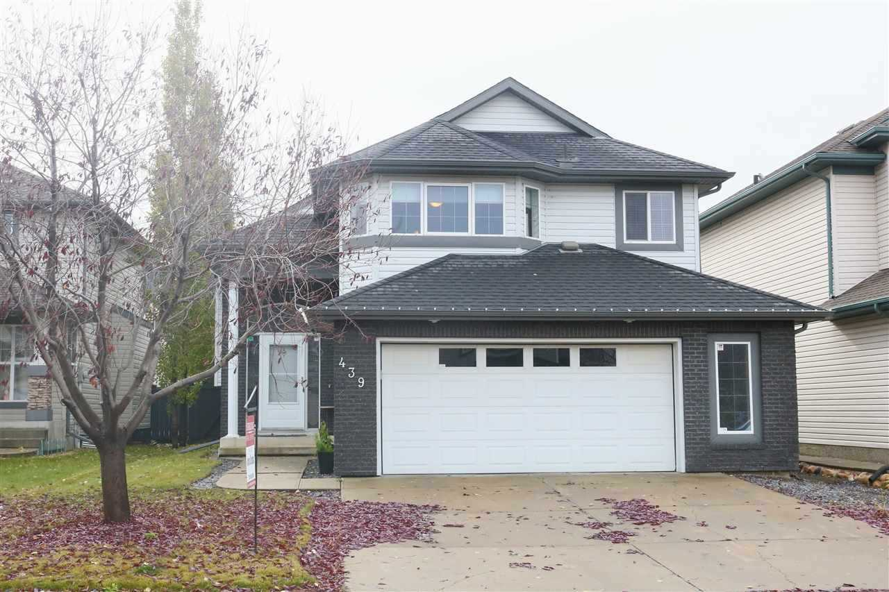 MLS® listing #E4158826 for sale located at 439 BYRNE Crescent