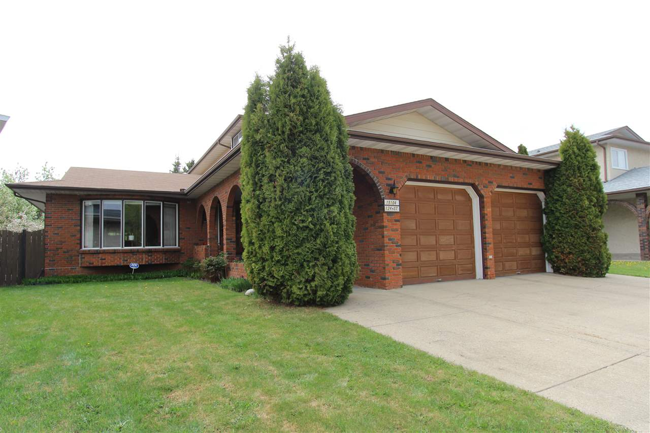 MLS® listing #E4159170 for sale located at 15104 124 Street
