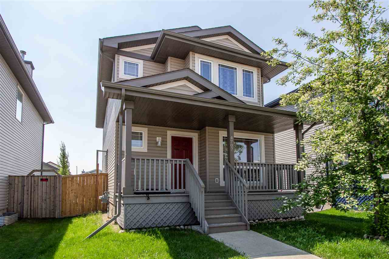 MLS® listing #E4159406 for sale located at 4707 160 Avenue