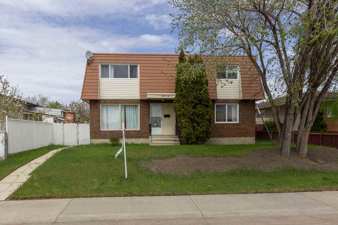 MLS® listing #E4160451 for sale located at 8612 141 Avenue