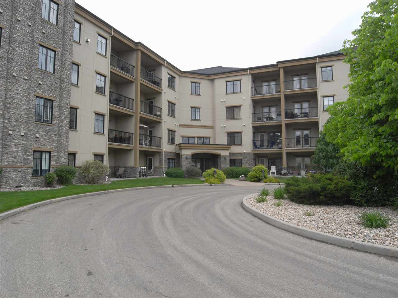 MLS® listing #E4160570 for sale located at 419 160 MAGRATH Road