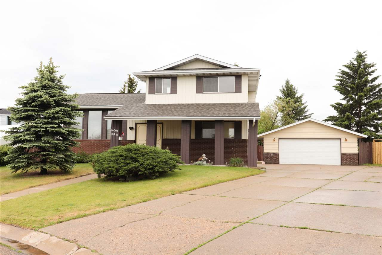 MLS® listing #E4160879 for sale located at 16004 102 Street