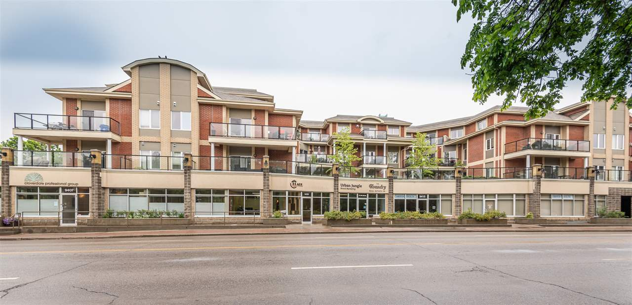 MLS® listing #E4160939 for sale located at 302 9750 94 Street