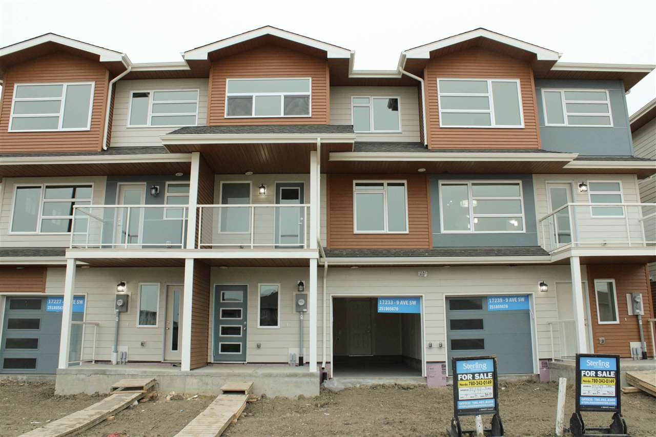 MLS® listing #E4161014 for sale located at 17233 9 Avenue