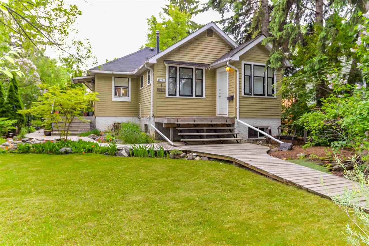 MLS® listing #E4161328 for sale located at 10734 126 Street