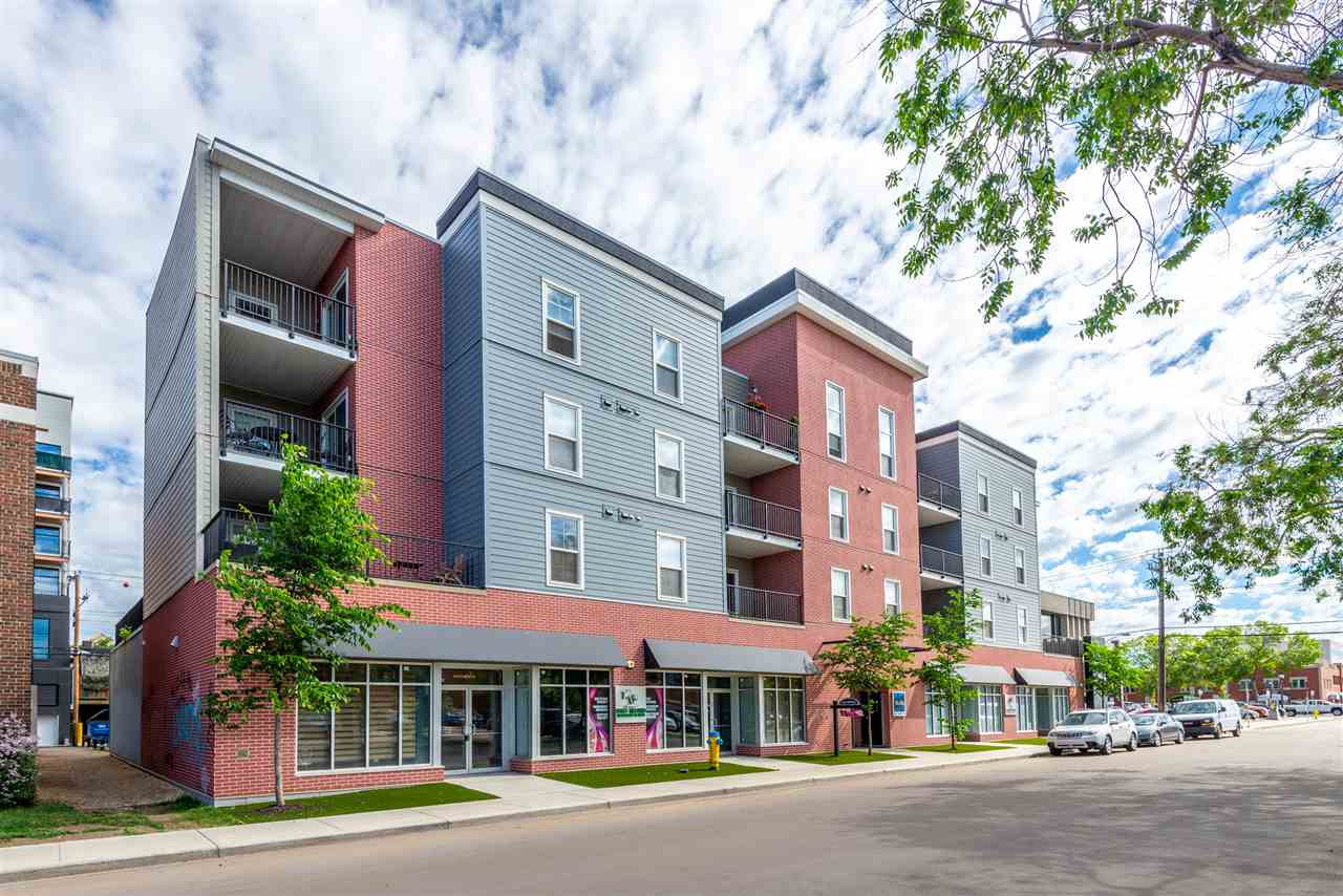 MLS® listing #E4161489 for sale located at 307 10418 81 Avenue
