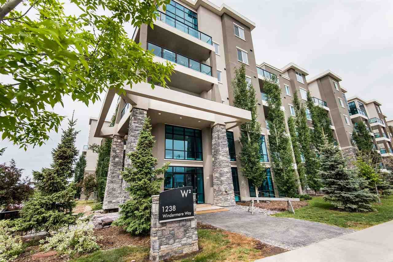 MLS® listing #E4161689 for sale located at 207 1238 WINDERMERE Way